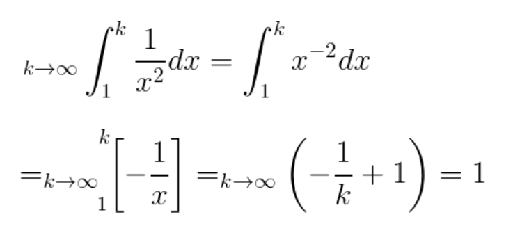 integral test and p series