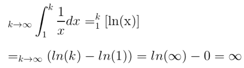 Integral Test and P-series